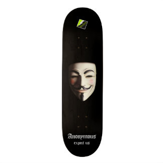 "Scolletta ""Anonymous"" Deck 107 Skate Decks"