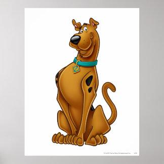 Scooby Doo Airbrush Pose 1 Print