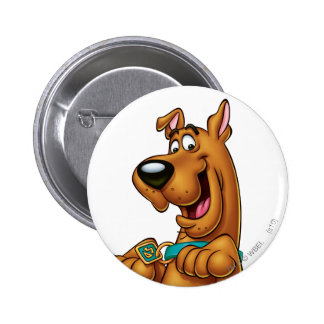 Scooby Doo Airbrush Pose 23 6 Cm Round Badge