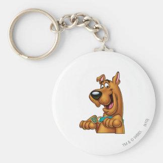 Scooby Doo Airbrush Pose 23 Key Ring