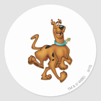 Scooby Doo Airbrush Pose 3 Classic Round Sticker