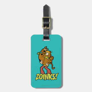 Scooby-Doo and Shaggy Zoinks! Luggage Tag