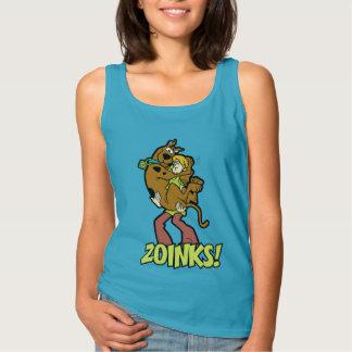Scooby-Doo and Shaggy Zoinks! Singlet