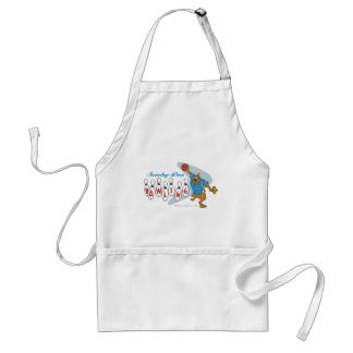 """Scooby Doo """"Bowling""""1 Standard Apron"""