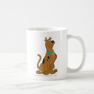 Scooby Doo Cuter Than Cute Pose 15 Basic White Mug