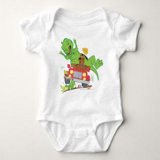 Scooby Doo Dinosaur Attack1 Baby Bodysuit