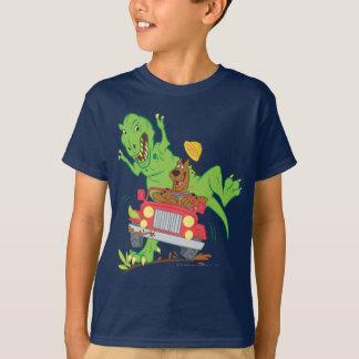 Scooby Doo Dinosaur Attack1 T-Shirt