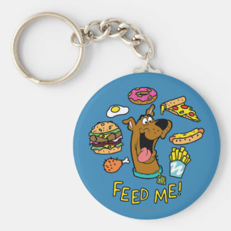 Scooby-Doo Feed Me! Key Ring