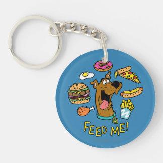 Scooby-Doo Feed Me! Key Ring