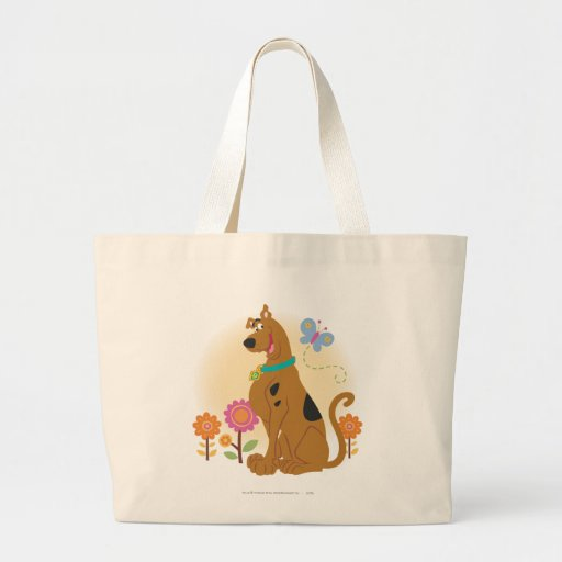 Scooby Doo Following Butterfly1 Canvas Bag
