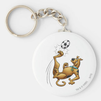 Scooby Doo Goal Sports Airbrush Pose 1 Key Ring