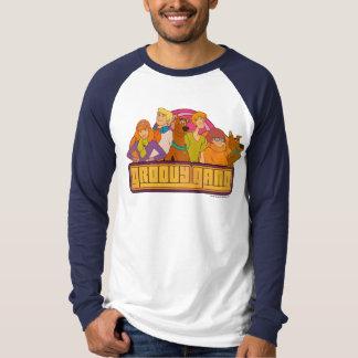 "Scooby-Doo   ""Groovy Gang"" Retro Cartoon Graphic T-Shirt"