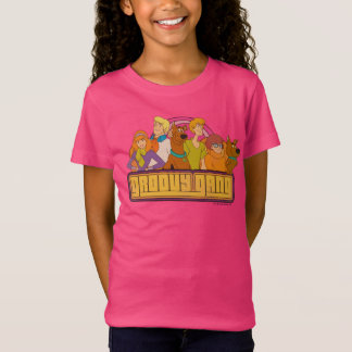 "Scooby-Doo | ""Groovy Gang"" Retro Cartoon Graphic T-Shirt"
