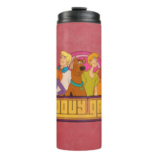 "Scooby-Doo | ""Groovy Gang"" Retro Cartoon Graphic Thermal Tumbler"