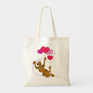 Scooby Doo - Heart Balloons Tote Bag