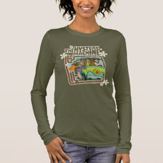 """Scooby-Doo   """"It's Lit"""" Mystery Machine Graphic Long Sleeve T-Shirt"""