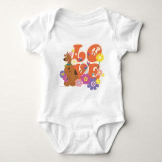 """Scooby Doo """"Love"""" Baby Bodysuit"""