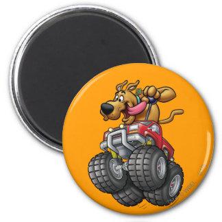 Scooby Doo Monster Truck1 Magnet