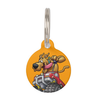 Scooby Doo Monster Truck1 Pet ID Tag