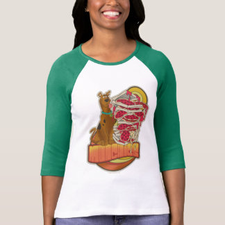 """Scooby-Doo   Pile of Pizza """"Munchies"""" Graphic T-Shirt"""