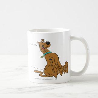 Scooby Doo Pose 101 Basic White Mug