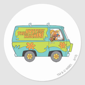 Scooby Doo Pose 73 Round Sticker