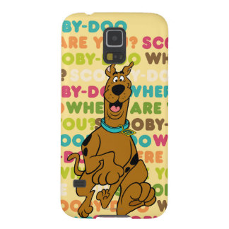 """Scooby-Doo Running """"Where Are You?"""" Galaxy S5 Case"""