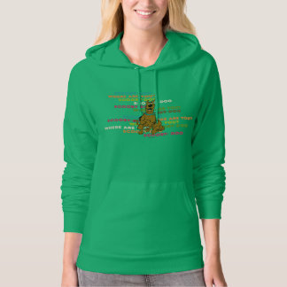 "Scooby-Doo Running ""Where Are You?"" Hoodie"