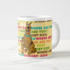 """Scooby-Doo Running """"Where Are You?"""" Large Coffee Mug"""