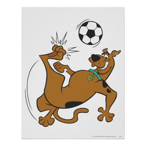 Scooby Doo Sports SDX Pose 6 Poster