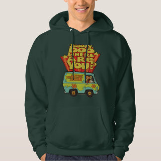 "Scooby-Doo | ""Where Are You?"" Retro Cartoon Van Hoodie"
