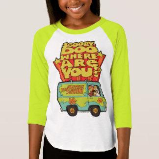 "Scooby-Doo   ""Where Are You?"" Retro Cartoon Van T-Shirt"