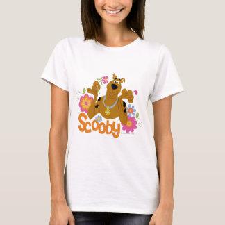 Scooby in Flowers T-Shirt