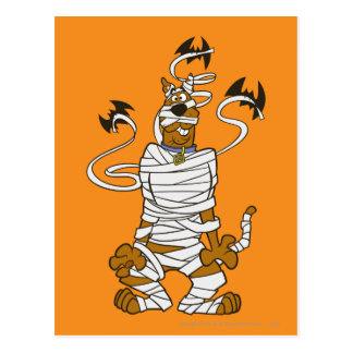Scooby Mummy Post Cards