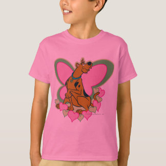 Scooby Pretty Butterfly Scooby T-Shirt