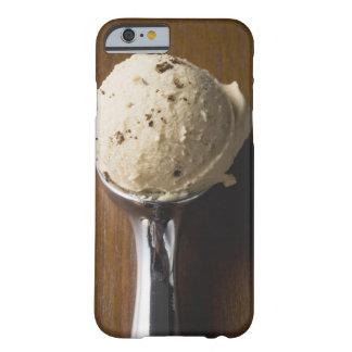 Scoop of ice cream in ice cream scoop overhead iPhone 6 case