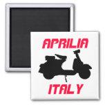 Scooter, Aprilia, Italy Fridge Magnet