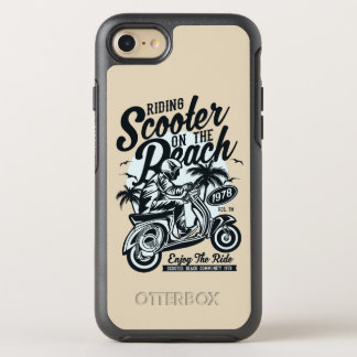 Scooter Beach Otterbox Phone Case