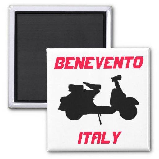 Scooter, Benevento, Italy Fridge Magnet