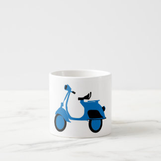 Scooter Blue Espresso Cup