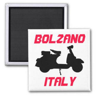 Scooter, Bolzano, Italy Square Magnet
