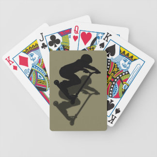 Scooter Boy - Stunt Scooter 5 Bicycle Playing Cards