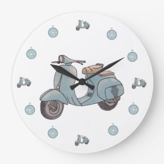 Scooter clock