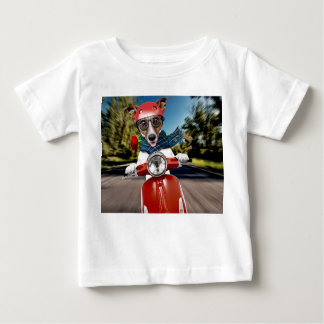 Scooter dog ,jack russell baby T-Shirt