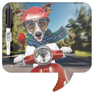 Scooter dog ,jack russell dry erase board