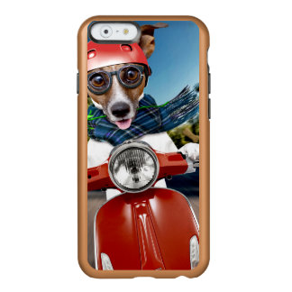 Scooter dog ,jack russell incipio feather® shine iPhone 6 case
