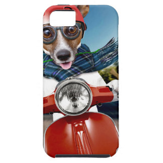 Scooter dog ,jack russell iPhone 5 case