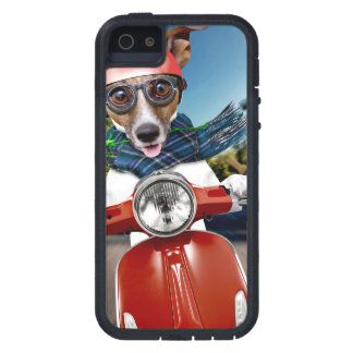 Scooter dog ,jack russell iPhone 5 covers