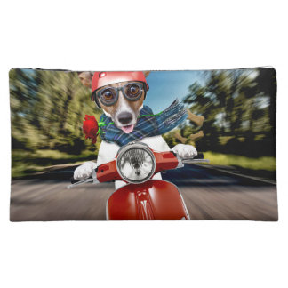 Scooter dog ,jack russell makeup bag