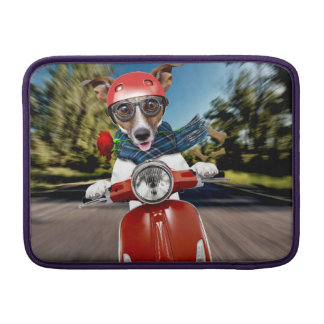 Scooter dog ,jack russell sleeve for MacBook air